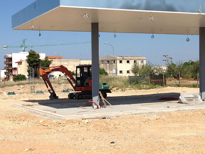 Impianto distribuzione carburante Andria