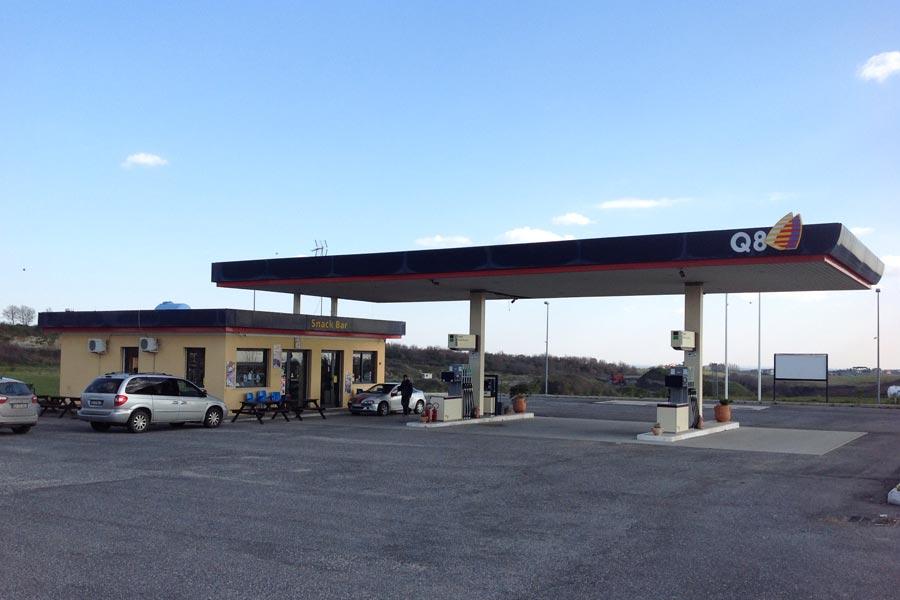 Impianto distribuzione carburante Bracciano