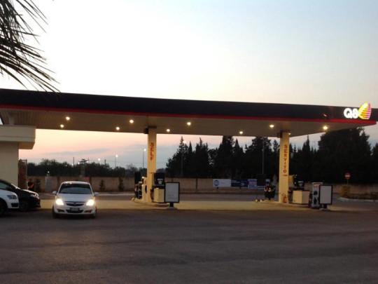 progettazione distributore carburante copertino