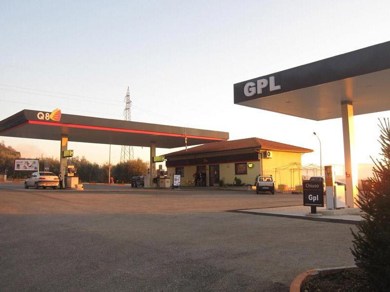 Impianto distribuzione carburante Piglio